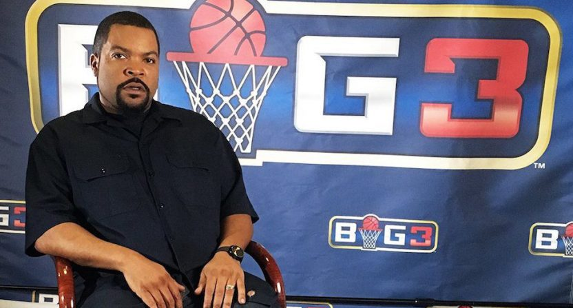 Big 3 co-founder Ice Cube.