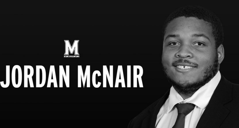 Maryland OL Jordan McNair passed away Wednesday, less than a month after being hospitalized following a team workout.