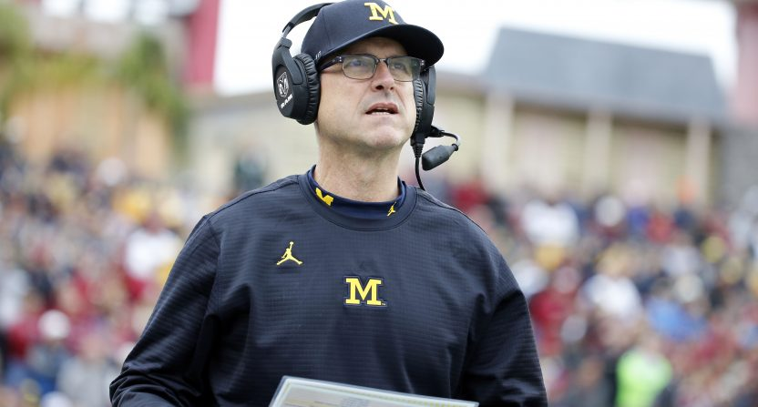 Should Michigan coach Jim Harbaugh plot an exit strategy back to the NFL  37f410eee
