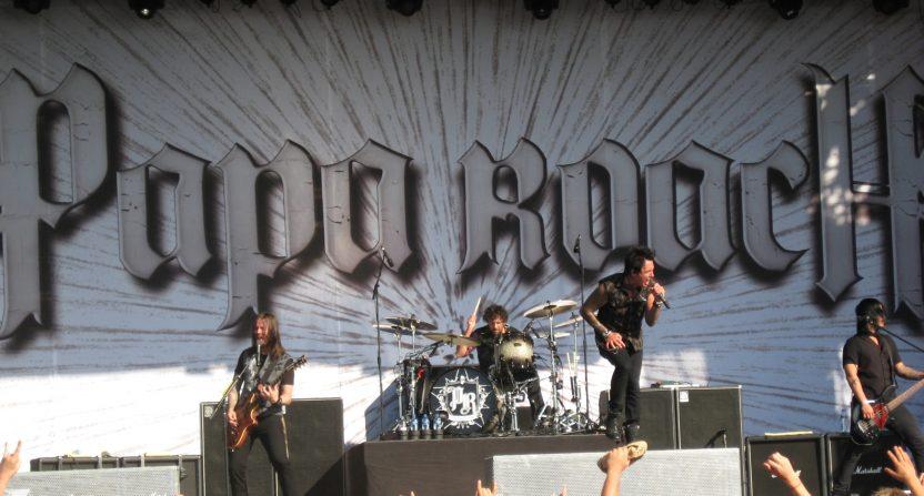 Papa Roach in 2010.