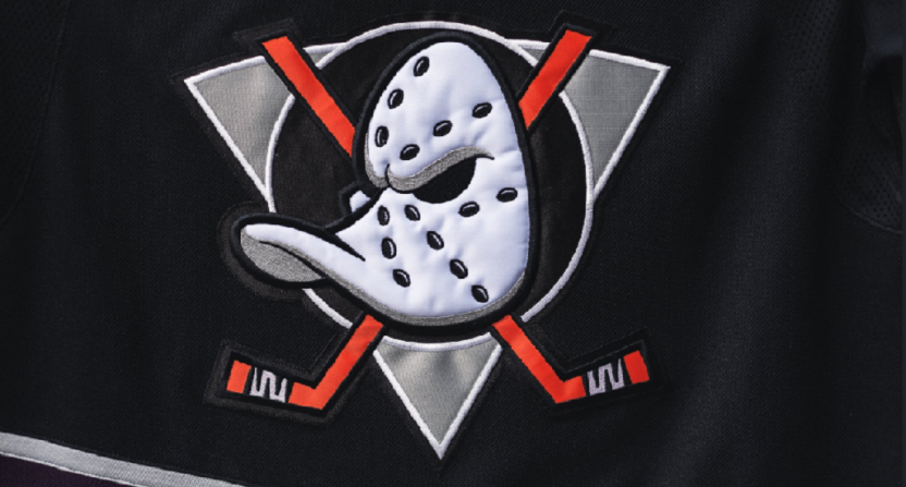the latest fb556 b60e2 The Mighty Ducks jerseys are returning for Anaheim's 25th ...