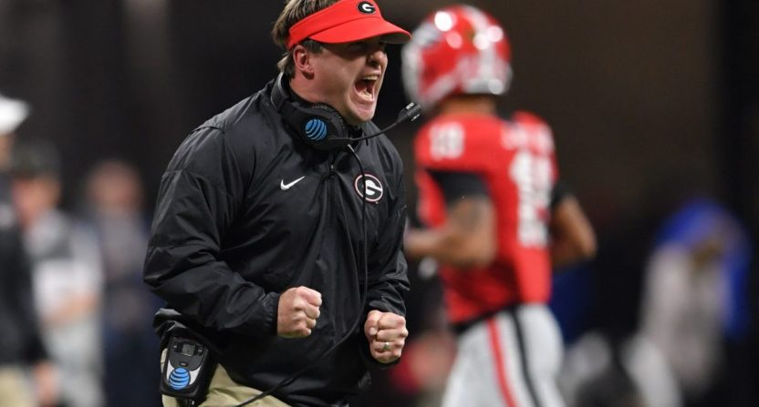 Kirby Smart and Georgia may have lost the national championship game to Alabama last year, but they'll get another shot at the Tide in this year's SEC Championship Game.