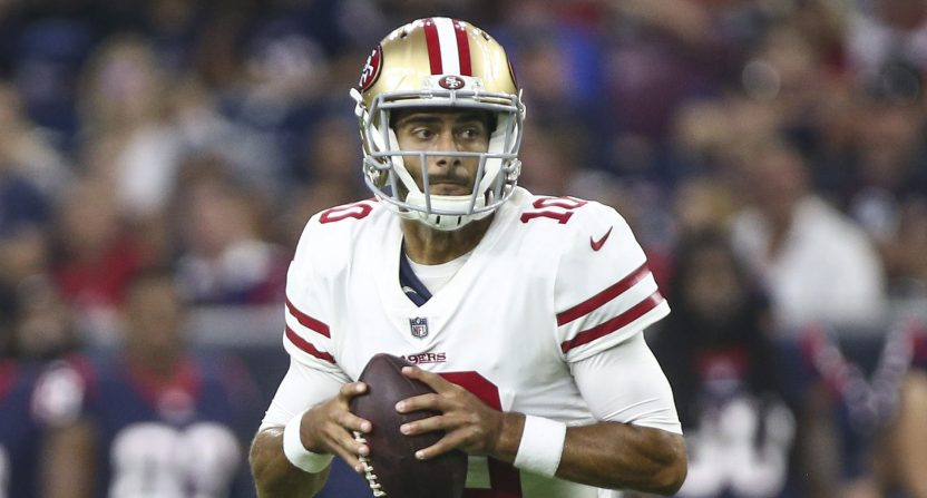 cheap for discount 287f4 8f73f 2018 NFL preseason rankings: No. 18 San Francisco 49ers