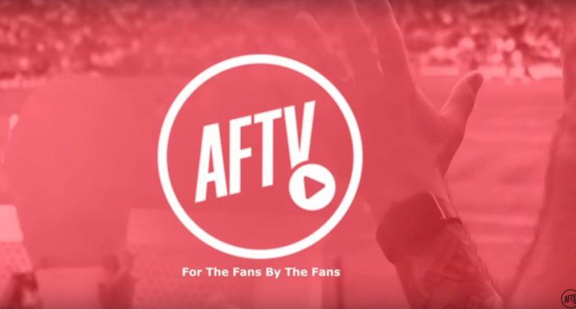 Arsenal Fan TV's AFTV rebrand.