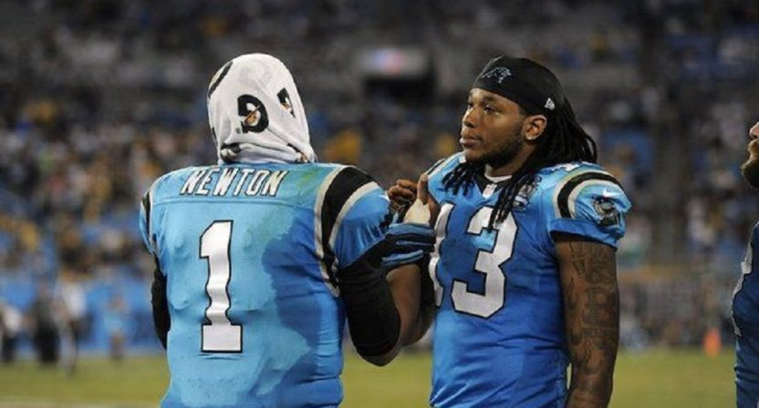 0ac1aea66 Former Panthers WR Kelvin Benjamin throws Cam Newton under the bus