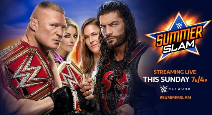 10 predictions for wwe summerslam including lesnar vs reigns again