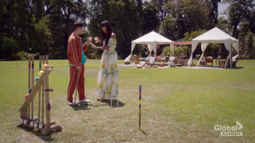 Croquet in The Good Place.