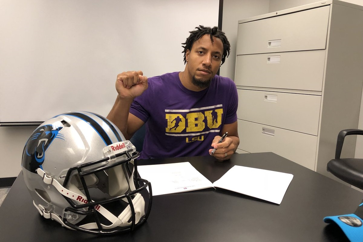 The Panthers just signed Eric Reid, who will reportedly not drop his collusion grievance