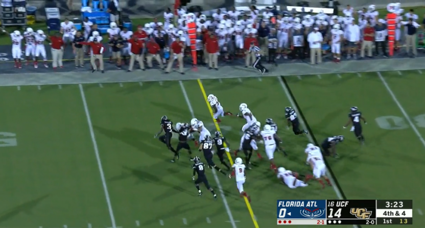 FAU's fake punt against UCF.