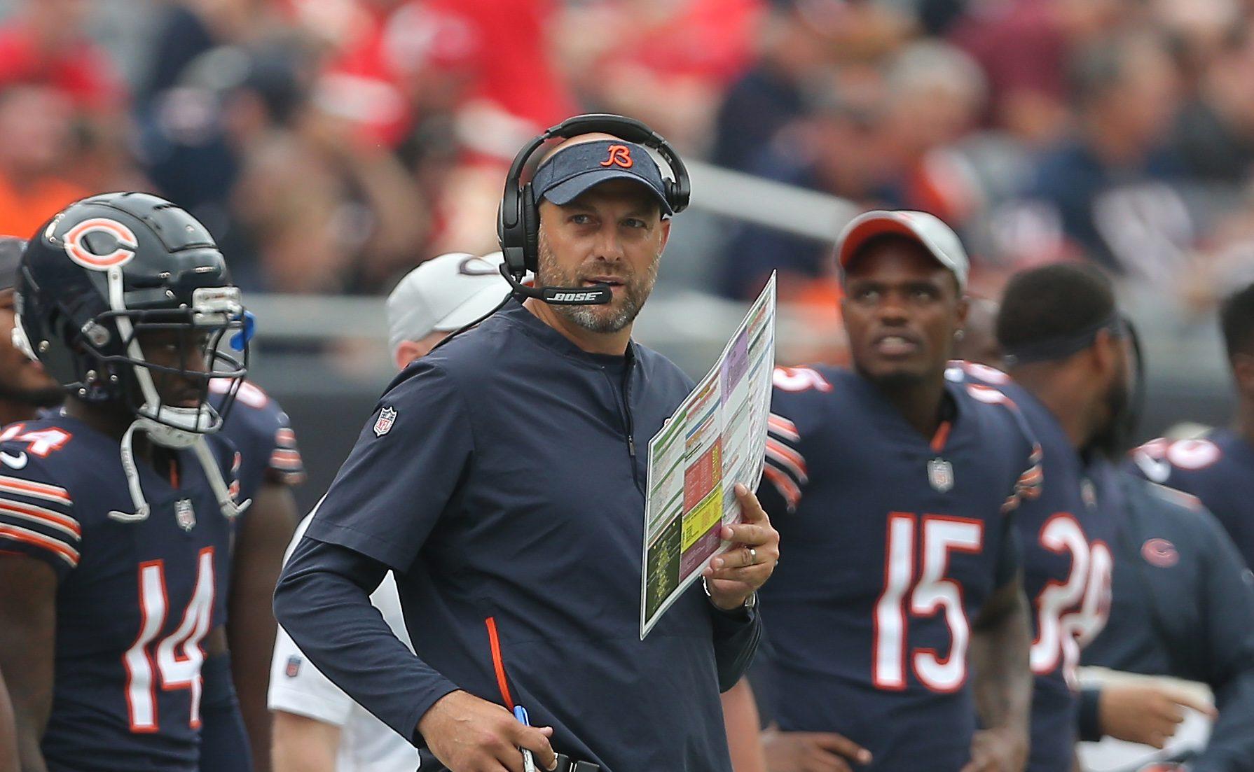 This Weekend in NFL Stupid: Matt Nagy's rookie mistake