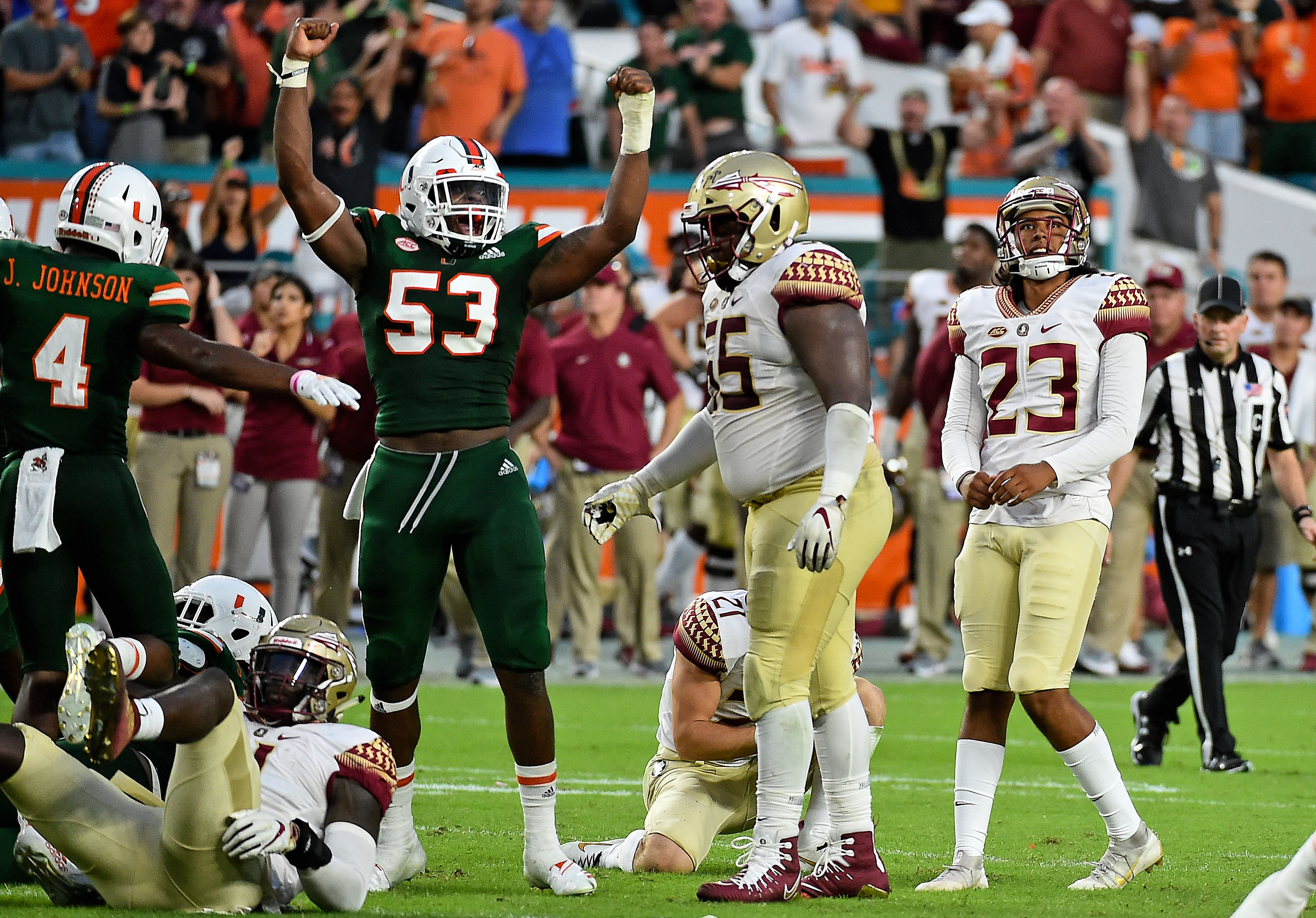 After Miami Scored 21 Unanswered Points To Beat Fsu Hurricanes Took