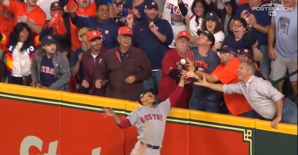 Astros-fan-interference-debate