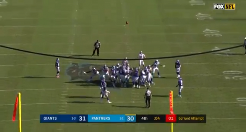 742d3112d Graham Gano nailed a 63-yard game-winner for the Panthers