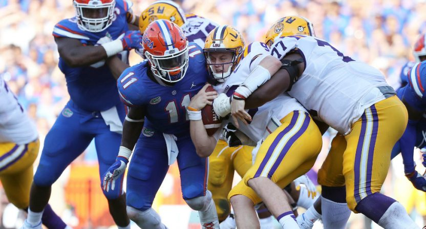 Florida picked up a massive win over No. 5 LSU Saturday.