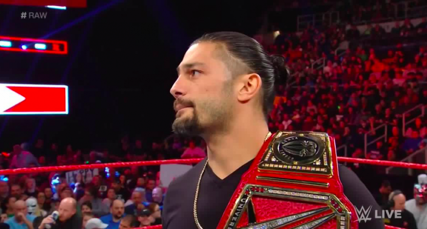Wwe Universal Champion Roman Reigns Announces He Has