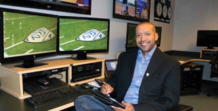 Pac-12 general counsel Woodie Dixon.
