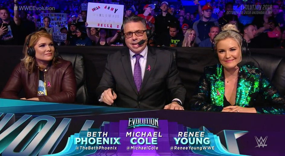 10 takeaways from WWE Evolution, WWE's first-ever all