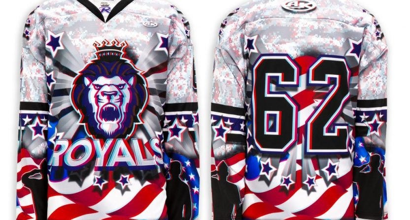 Echl Hockey Team Will Wear 3d Jerseys