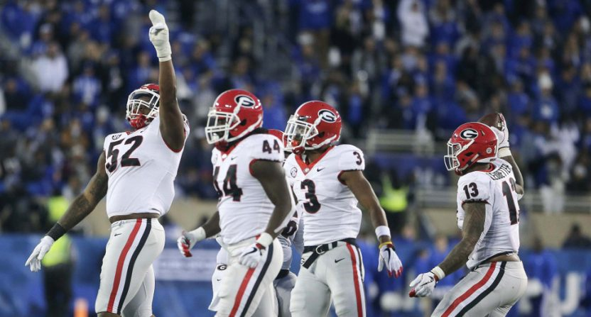 Georgia's set for a SEC Championship duel with Alabama after both teams won Saturday.