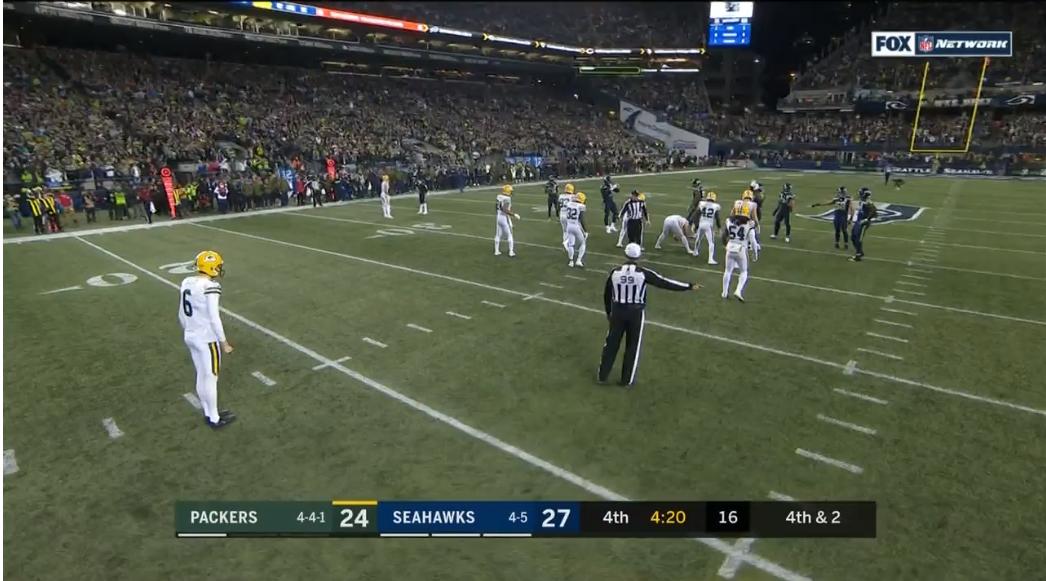 Packers-seahawks-punt