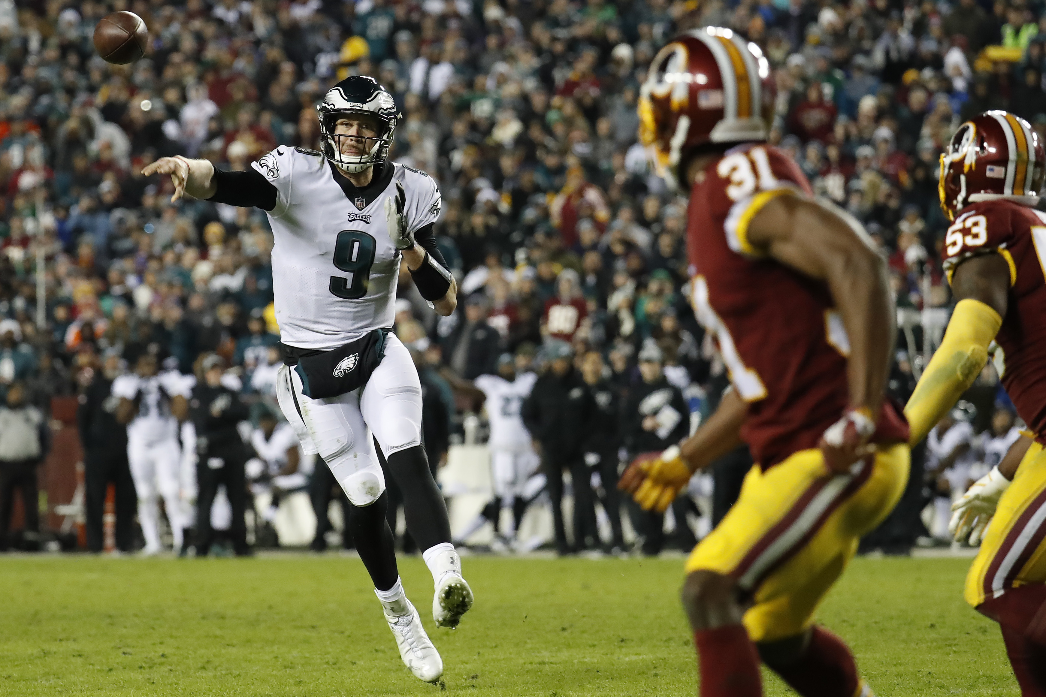 Nick Foles misses out on  1 million bonus in — literally — painful fashion c688aa14f