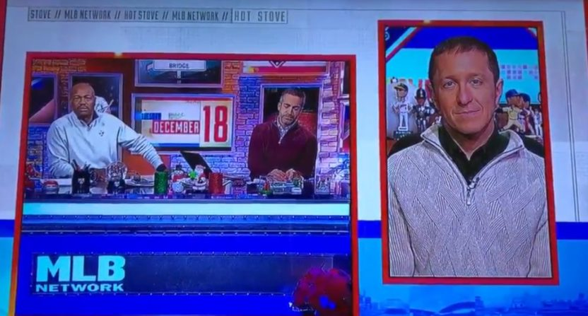 Harold Reynolds on MLB Network with Matt Vasgersian and Ken Rosenthal.