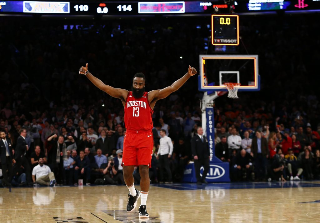 Stunning James Harden stats and facts following his 61 ...