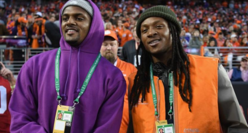 Deshaun Watson at the national championship game.