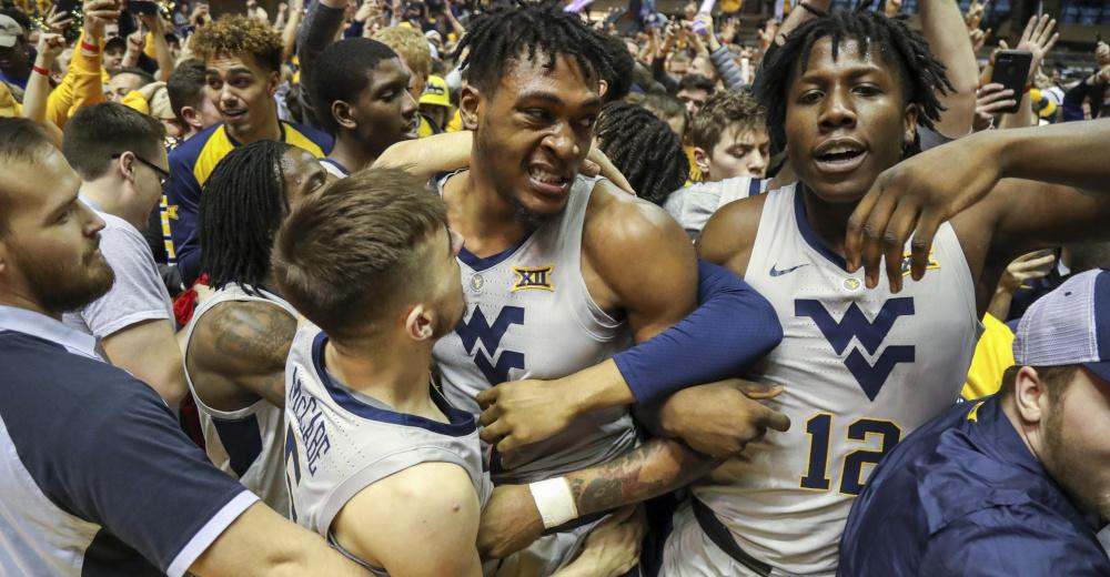 West Virginia takes down No. 7 Kansas