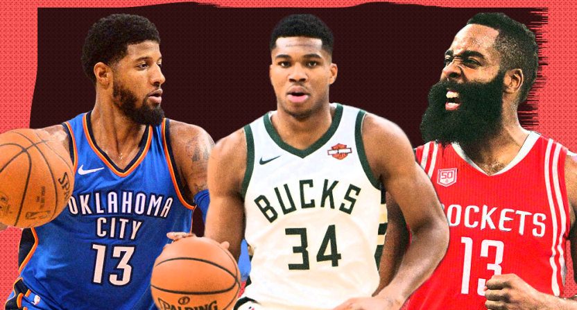 ac32fe61300 Ranking the top ten NBA Most Valuable Player candidates