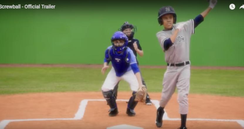 The trailer for Screwball features kids reenacting the Biogenesis saga.
