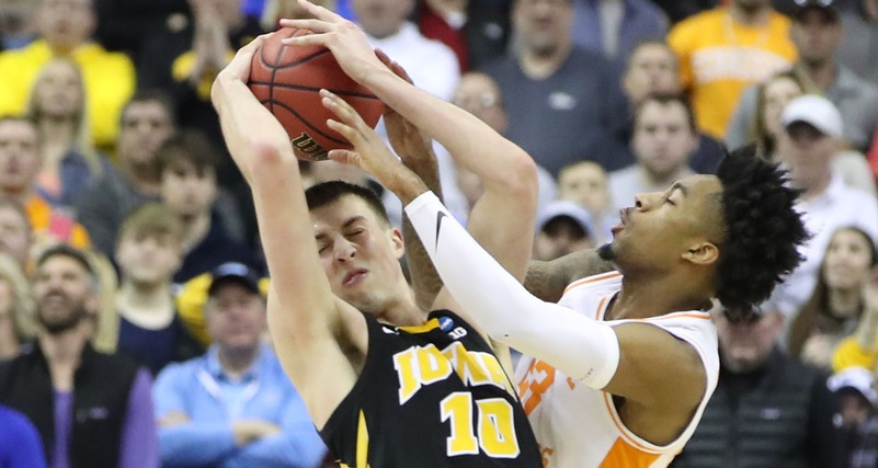 Tennessee almost didn't survive an incredible comeback from Iowa.