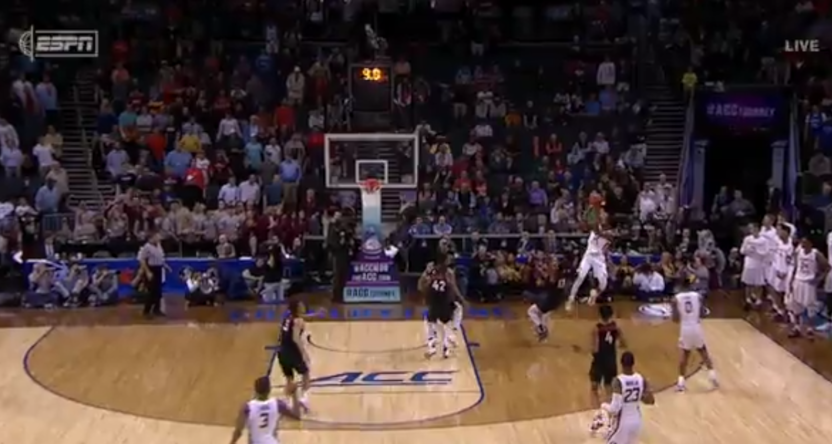 This Terance Mann shot gave Florida State a big win over Virginia Tech.