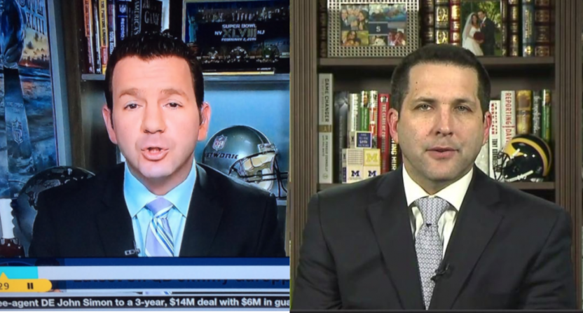 Ian Rapoport and Adam Schefter.