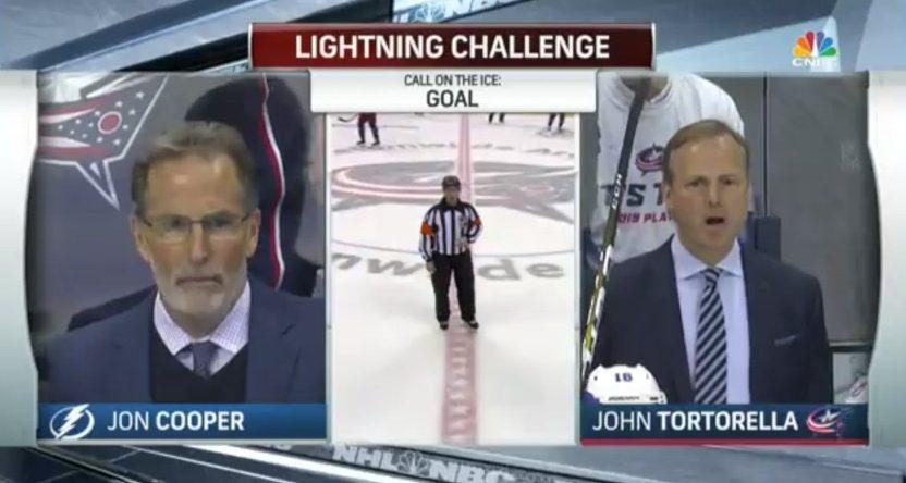CNBC mislabeled John Tortorella and Jon Cooper.