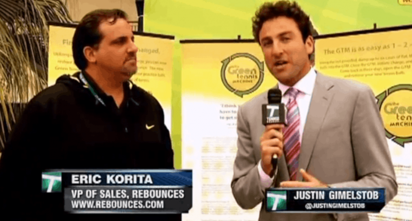Justin Gimelstob on Tennis Channel.