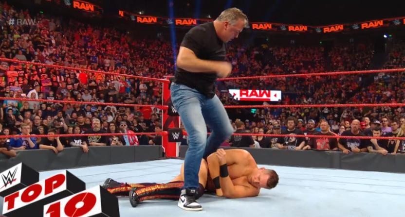 Shane McMahon on WWE Raw.