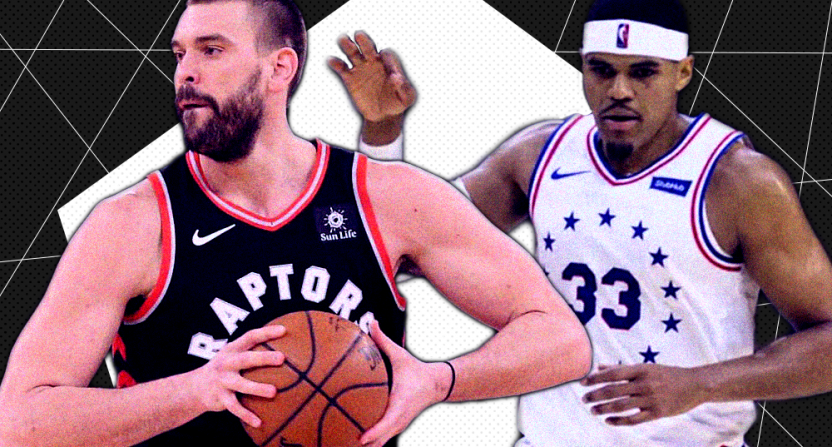The NBA trade deadline saw big moves, like the Raptors getting Marc Gasol and the Sixers adding Tobias Harris.