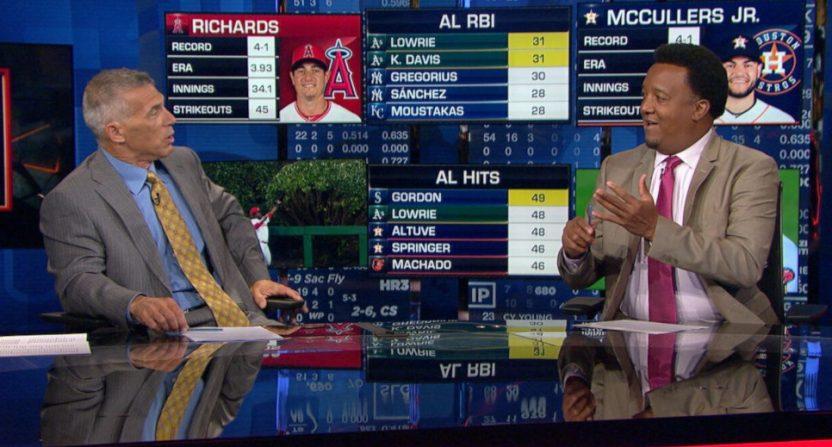 Joe Girardi and Pedro Martinez on MLB Network.