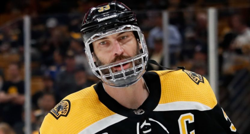A Christian Fauria report on Zdeno Chara was wrong.