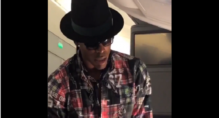 e3bbe675a Cam Newton offers man $1,500 to change seats on 10-hour flight, man says no