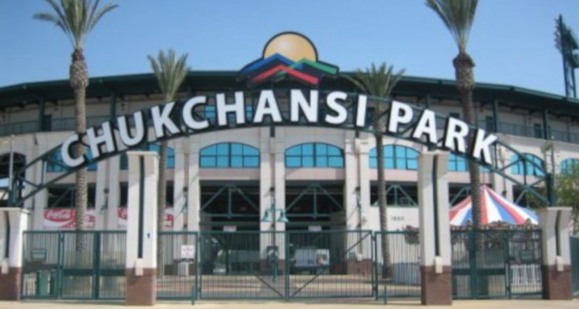 A taco-eating contest at Chukchansi Park Tuesday saw a participant collapse. He was later pronounced dead.