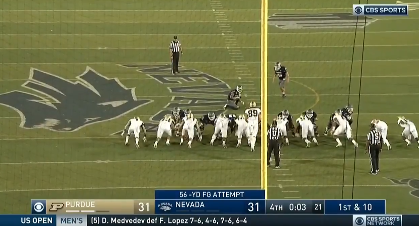 Nevada completes stunning comeback over Purdue with 56-yard