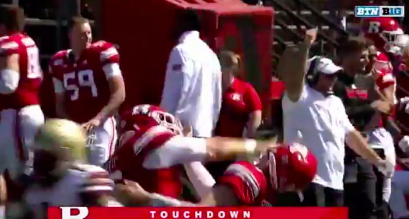 Rutgers punch