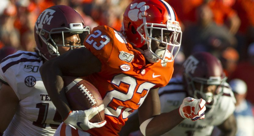 the best attitude 0f907 8e324 With Texas A&M behind them, No. 1 Clemson already faces easy ...