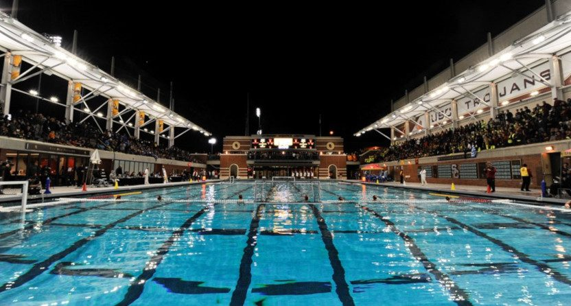 The USC water polo facilities.