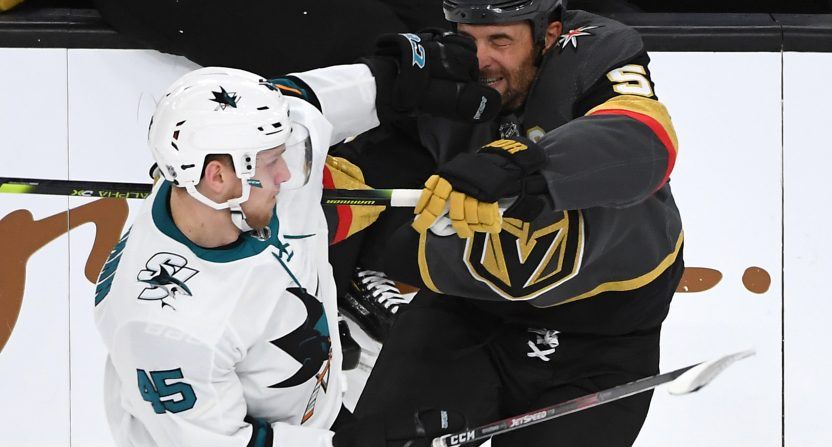 The Golden Knights and Sharks have a great rivalry going.