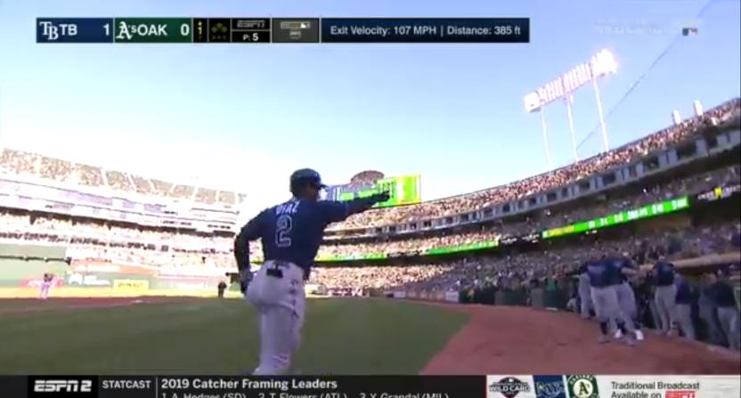 A Yandy Diaz home run.
