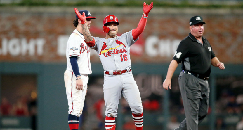 Kolten Wong and the Cardinals had a lot to celebrate Thursday.