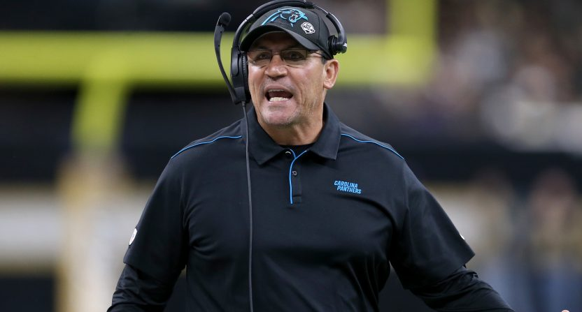 Ron Rivera might be one NFC coach on the way out ahead of next season.